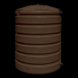 420 Gallon Dark Brown Rainwater Collection Storage Tank