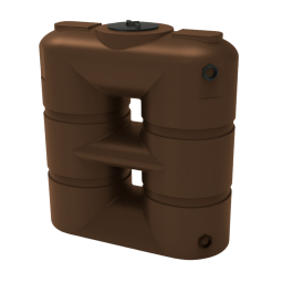 265 Gallon Brown Slimline Rainwater Storage Tank