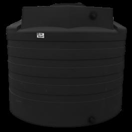 2650 Gallon Black Rainwater Collection Storage Tank