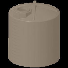 3000 Gallon Mocha Rainwater Collection Storage Tank