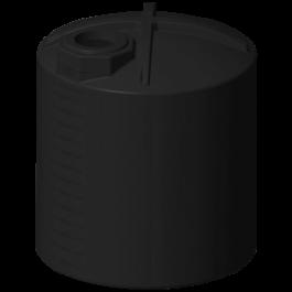 3000 Gallon Black Rainwater Collection Storage Tank
