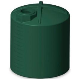 3000 Gallon Green Rainwater Collection Storage Tank