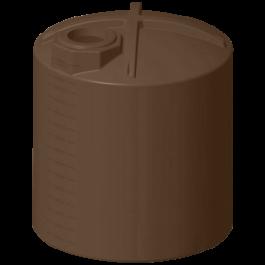 3000 Gallon Dark Brown Rainwater Collection Storage Tank