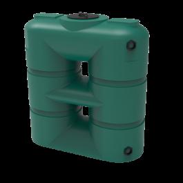265 Gallon Green Slimline Rainwater Storage Tank