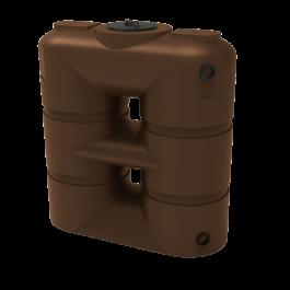 265 Gallon Brown Slimline Water Storage Tank