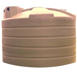 5000 Gallon Mocha Rainwater Collection Storage Tank