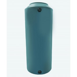 300 Gallon Green Vertical Water Storage Tank