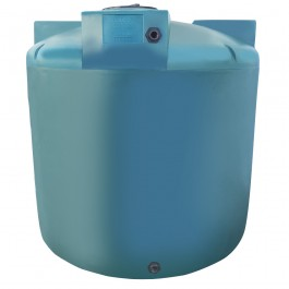 2500 Gallon Green Vertical Water Storage Tank