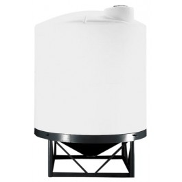 2650 Gallon Heavy Duty Chem-Tainer Cone Bottom Tank