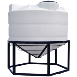 1600 Gallon Cone Bottom Tank