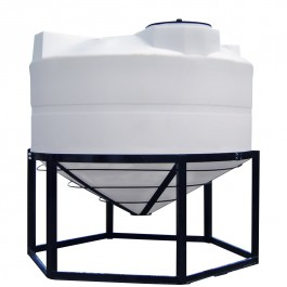 600 Gallon Cone Bottom Tank
