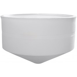 600 Gallon Cylindrical Cone Bottom Tank
