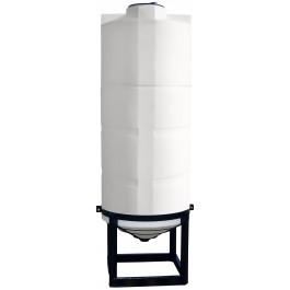 700 Gallon Cone Bottom Tank