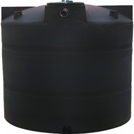 1000 Gallon Black Vertical Water Storage Tank & 1000VTFWB CRMI | 1000 Gallon Vertical Water Storage Tank