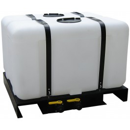 200 Gallon Skid Mounted Utility Tank