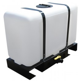 100 Gallon Skid Mounted Utility Tank