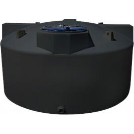 1100 Gallon Black Vertical Water Storage Tank