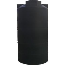 1225 Gallon Black Vertical Water Storage Tank