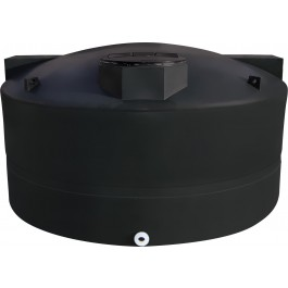 1600 Gallon Black Vertical Water Storage Tank