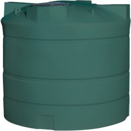2000 Gallon Green Vertical Water Storage Tank