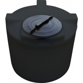 22 Gallon Black Vertical Water Storage Tank
