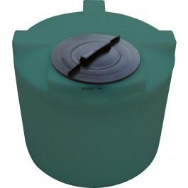 22 Gallon Green Vertical Water Storage Tank