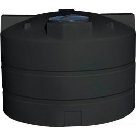 2400 Gallon Black Vertical Water Storage Tank