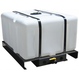 300 Gallon Skid Mounted Utility Tank