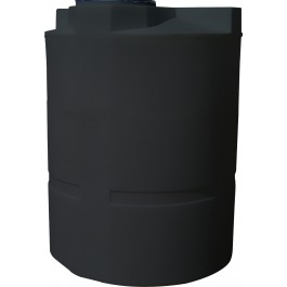450 Gallon Black Vertical Water Storage Tank