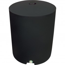 50 Gallon Black Vertical Water Storage Tank