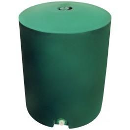 50 Gallon Green Vertical Water Storage Tank