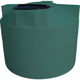 525 Gallon Green Vertical Water Storage Tank