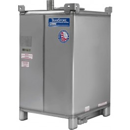 550 Gallon Beverage Storage & Fermentation 304 Stainless Steel IBC Tote Tank