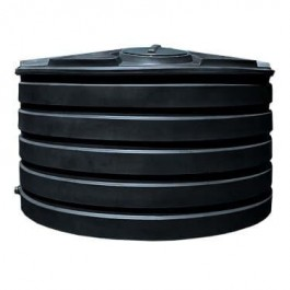 1110 Gallon Black Vertical Water Storage Tank