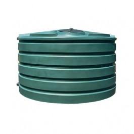 1110 Gallon Green Vertical Water Storage Tank