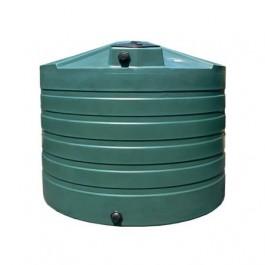 1320 Gallon Green Vertical Water Storage Tank