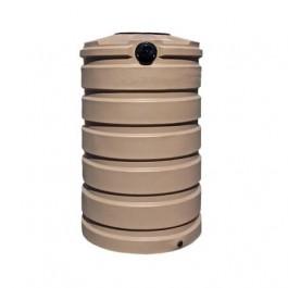 205 Gallon Mocha Vertical Water Storage Tank
