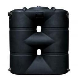 265 Gallon Black Slimline Water Storage Tank