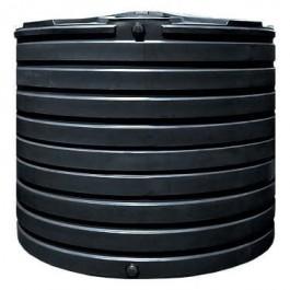 2825 Gallon Black Vertical Water Storage Tank