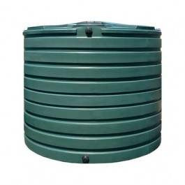 2825 Gallon Green Vertical Water Storage Tank