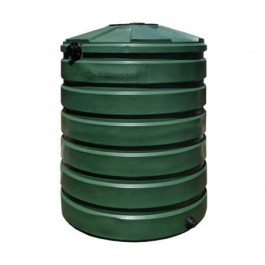 420 Gallon Green Vertical Water Storage Tank