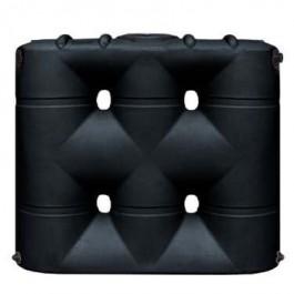 530 Gallon Black Slimline Water Storage Tank