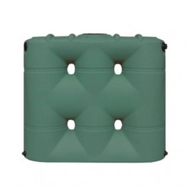 530 Gallon Green Slimline Water Storage Tank