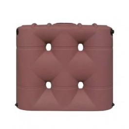 530 Gallon Brick Red Slimline Water Storage Tank