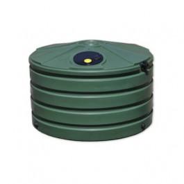 660 Gallon Green Vertical Water Storage Tank