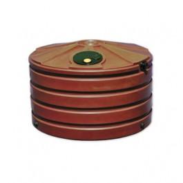 660 Gallon Brick Red Vertical Water Storage Tank