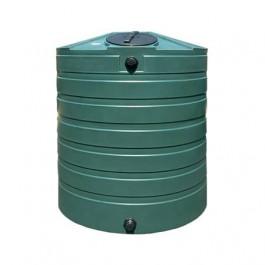 865 Gallon Green Vertical Water Storage Tank