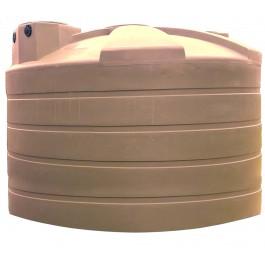 5050 Gallon Mocha Vertical Water Storage Tank