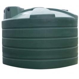 5050 Gallon Green Vertical Water Storage Tank