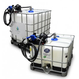 Easy Caddy DEF IBC Tote Tank 110V Dura-Pump Kit with RPV Top Suction